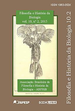 Filosofia e História da Biologia, volume 7, número 1, 2012